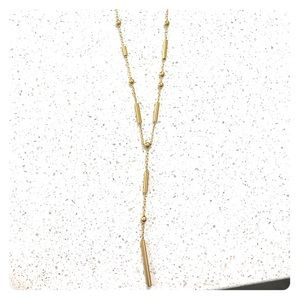 Madewell Y-bar Necklace